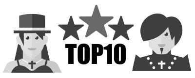 Top 10 > Les meilleurs tee shirt gothique en 2020